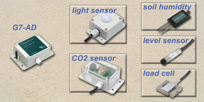 application of wireless analog sensor